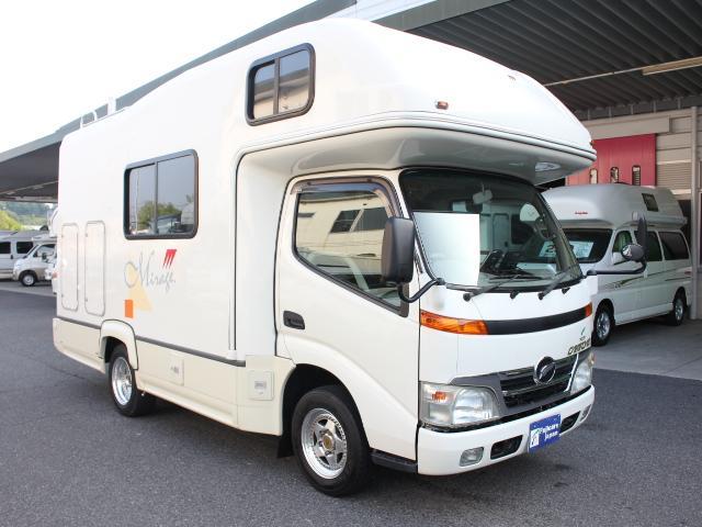 トヨタ カムロード 発電機 ルーフエアコン 1500インバーター