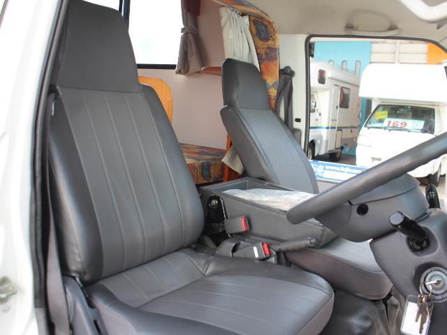 日産 バネットトラック ナッツRV クレソンJr. ツインサブバッテリ FFヒーター