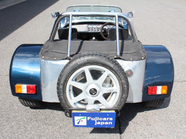 バーキン バーキン7 ベース ケントエンジン レザー調シート 15インチAW