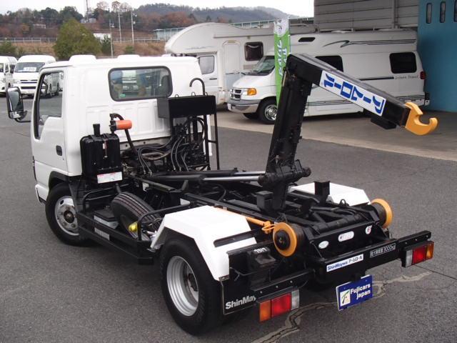 いすゞ エルフトラック アームロールコンテナ専用積載3000Kg