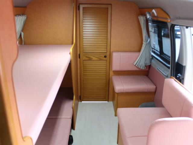 トヨタ ハイエースワゴン OMC 北斗改 FFヒーター 1500Wインバータ ナビ