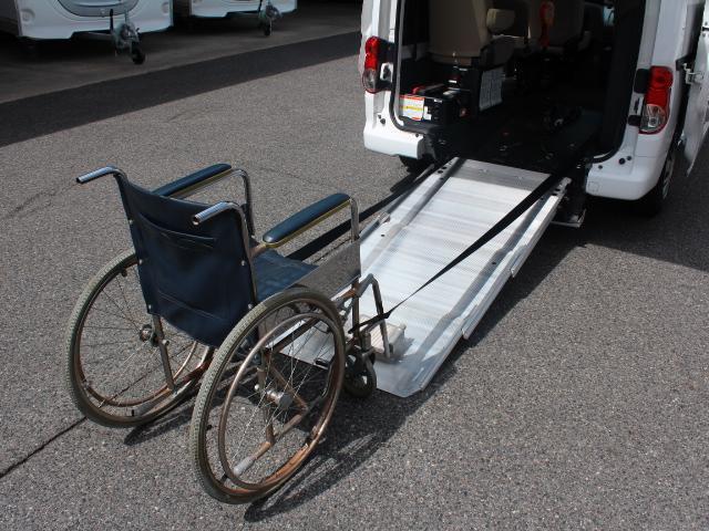 福祉車両 スローパー 車いす2基積み 電動ウィンチ 8ナンバ(5枚目)