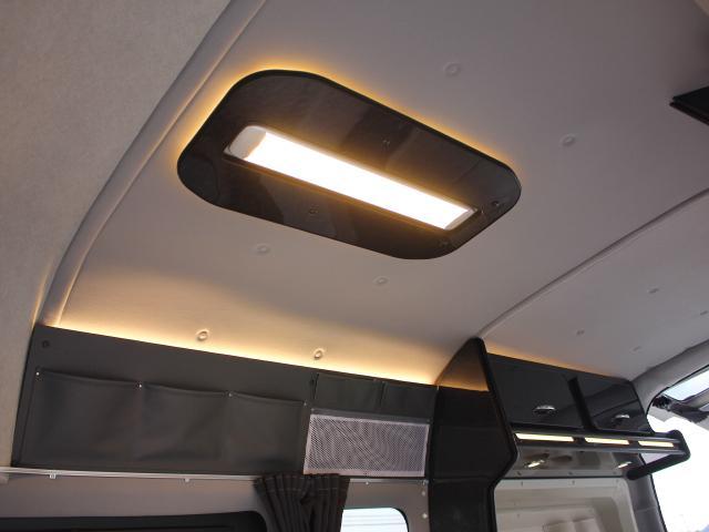 LED照明で室内も明るく照らせます☆