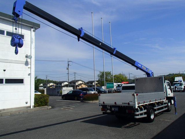 クレーン4段 タダノZR234 2,3吊り モデル2006y ラジコンフックイン 積載2000Kgアオリアルミブロック インタークーラーターボNOX適合HSA(坂道後退防止補助)(19枚目)