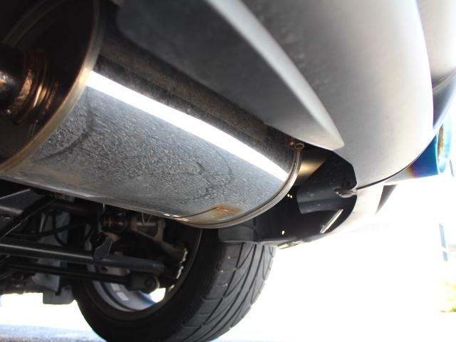 タイプE Greddyマフラー BLITZ車高調 エアロ(9枚目)