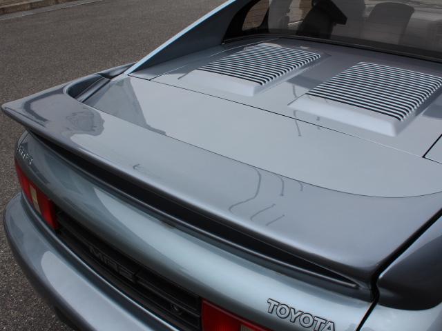 GT-S SW20型 ターボ ワンオーナー車 RAYS17インチアルミホイール 純正マフラー 純正足回り TRDシフトノブ パワーステアリング パワーウィンドウ 純正カセットデッキ リアスポイラー(33枚目)