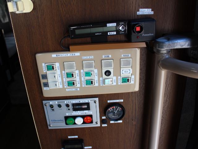 発電機装備!室内から発電機の始動が可能です♪