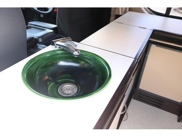 シンク装備!手を洗ったり簡単な洗い物も可能です♪