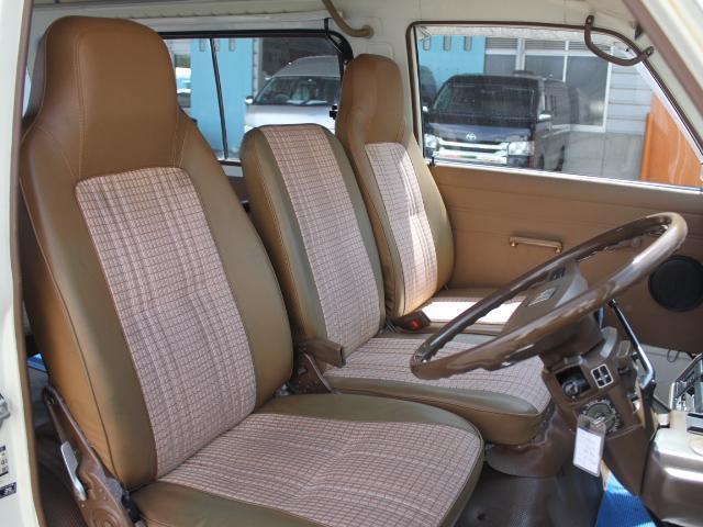 ロングDX 15名乗車 昭和56年式 2ナンバー登録 純正足回り 14インチ純正鉄ホイール 実走行 リアクーラー リアヒーター(12枚目)