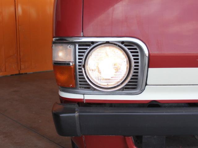 ロングDX 15名乗車 昭和56年式 2ナンバー登録 純正足回り 14インチ純正鉄ホイール 実走行 リアクーラー リアヒーター(20枚目)