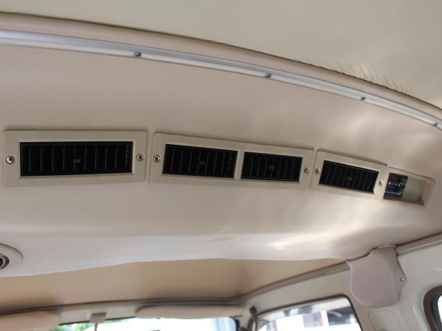 ロングDX 15名乗車 昭和56年式 2ナンバー登録 純正足回り 14インチ純正鉄ホイール 実走行 リアクーラー リアヒーター(30枚目)