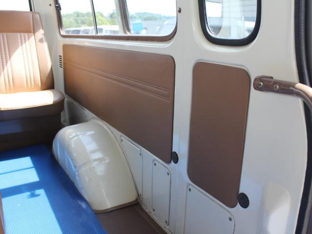 ロングDX 15名乗車 昭和56年式 2ナンバー登録 純正足回り 14インチ純正鉄ホイール 実走行 リアクーラー リアヒーター(35枚目)