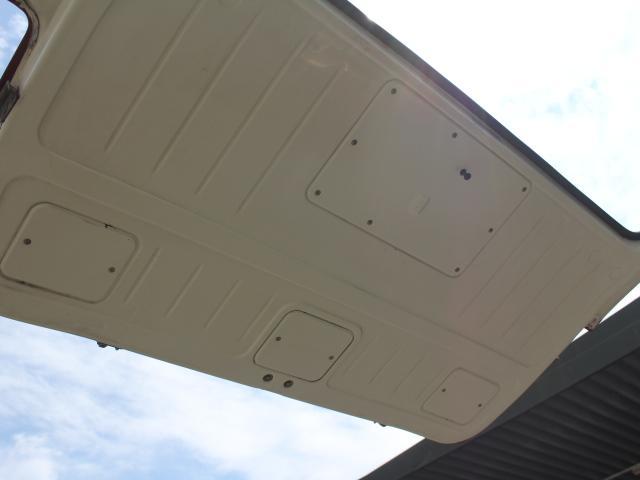ロングDX 15名乗車 昭和56年式 2ナンバー登録 純正足回り 14インチ純正鉄ホイール 実走行 リアクーラー リアヒーター(36枚目)
