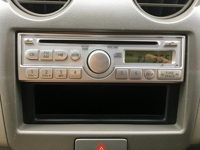 日産 ピノ E 社外アルミホイール キーレス 電動格納ミラー 純正CD