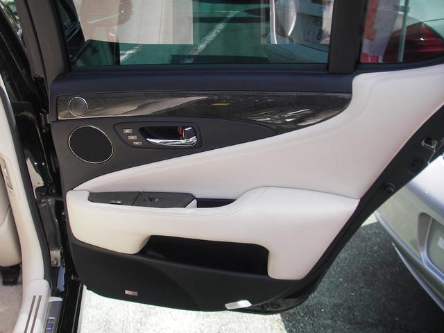 レクサス LS LS600h バージョンU 白革シートサンルーフマルチV