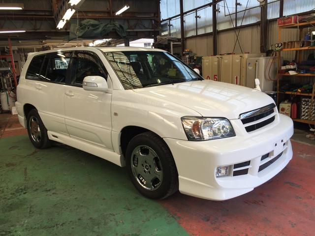 「トヨタ」「クルーガー」「SUV・クロカン」「岡山県」の中古車3