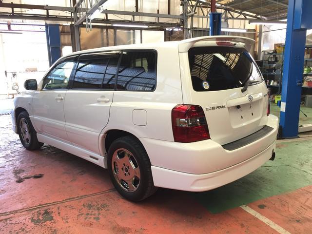 「トヨタ」「クルーガーL」「SUV・クロカン」「岡山県」の中古車7