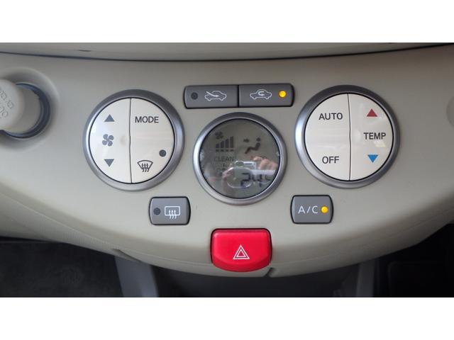 日産 マーチ 12E オートエアコン キーフリー 禁煙車 ワンオーナー