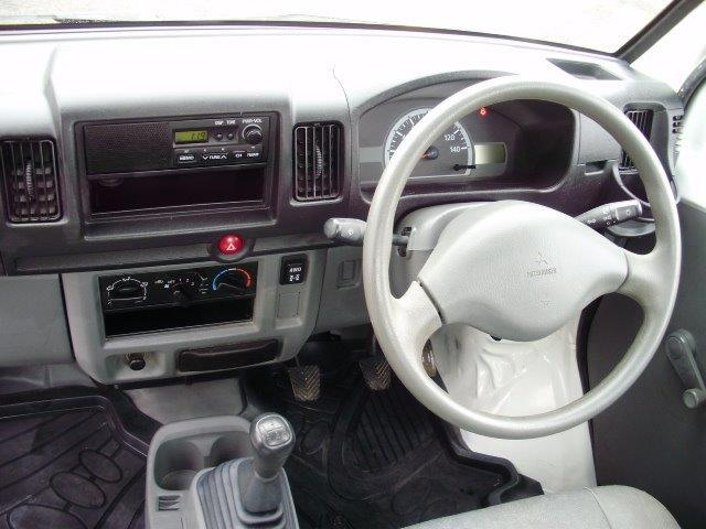 三菱 ミニキャブトラック JA 4WD 5MT パワステ