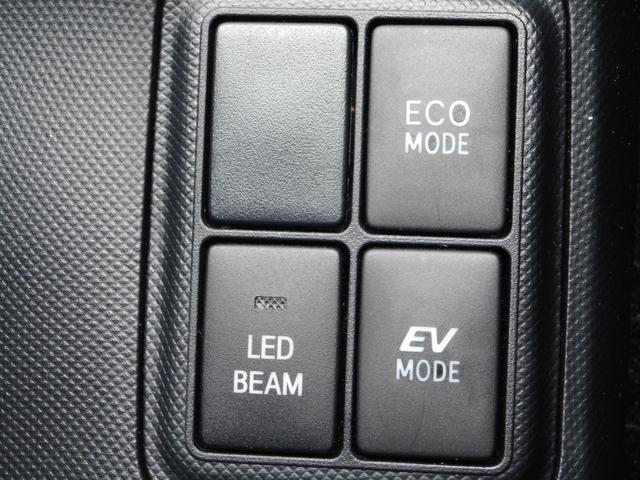 エコモード/EVモード/LED BEAM(外装LED)の各種スイッチです♪