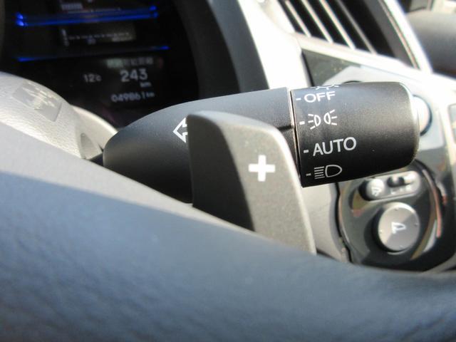 パドルシフトで走りをスポーティに!手元でのシフトチェンジですので視線を外す事無くでき安全運転にも繋がります!
