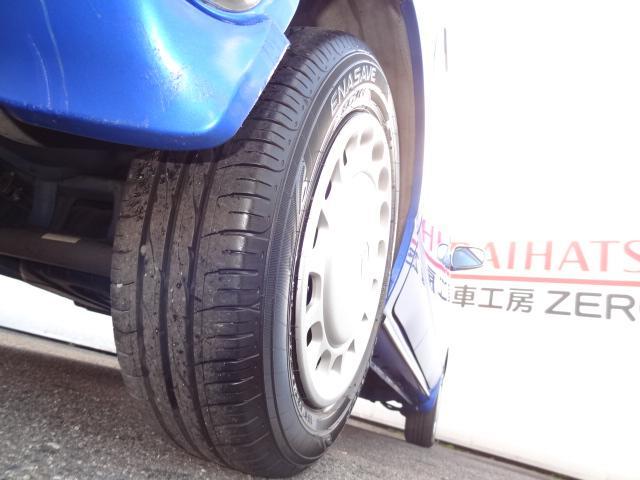 """☆ ご購入時に""""安心"""" """"納得""""の為、お客様のご予算に応じてご希望の車種に適正な新品タイヤの交換も行っております ご来店時にお問合せください。"""