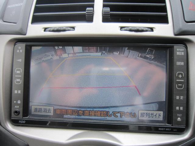 トヨタ ヴィッツ U HDDナビ DVD再生 Bカメラ スマートキー ETC