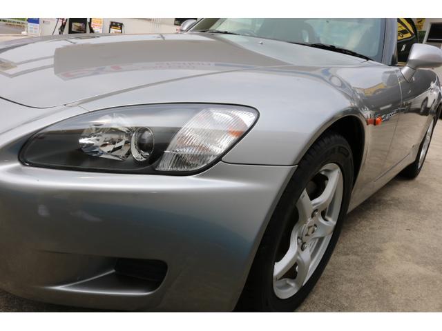 ホンダ S2000 ベースグレード 黒革シート 新品ガラス幌