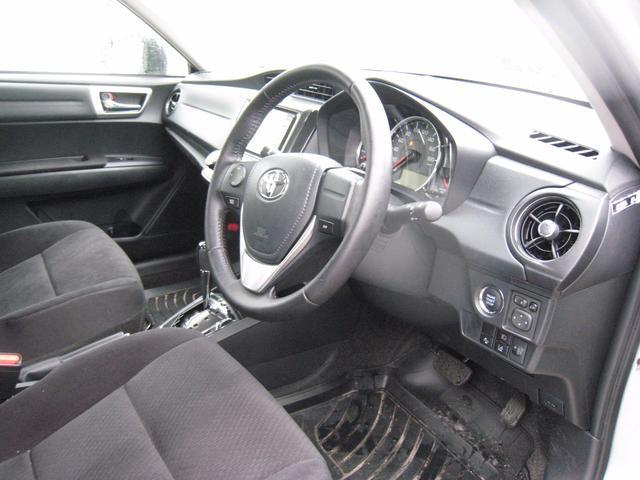 トヨタ カローラアクシオ 1.5G ナビ ETC スマートキー 革ステアリング