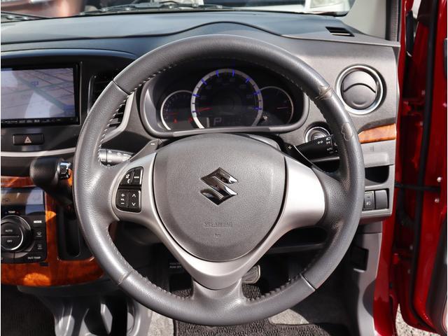 ハンドル周りもスッキリしており運転がしやすいです。