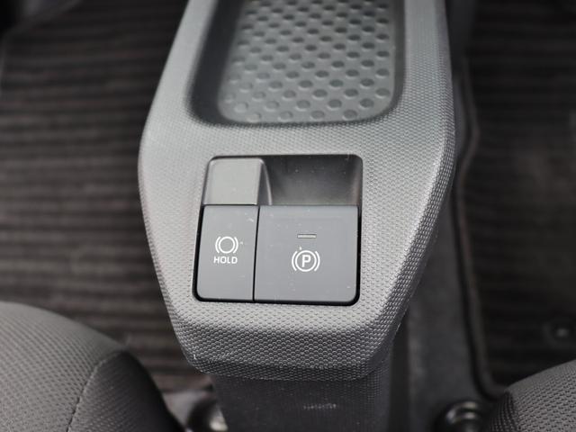 電子パーキングブレーキとオートブレーキホールド機能が付いております。
