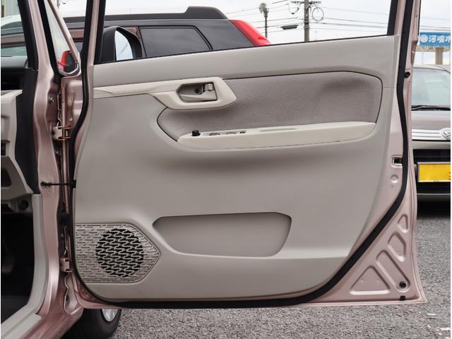 一番使用の多い運転席ドア周りも綺麗ですね。