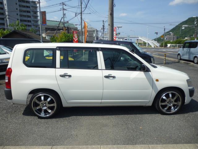「トヨタ」「プロボックスバン」「ステーションワゴン」「広島県」の中古車8