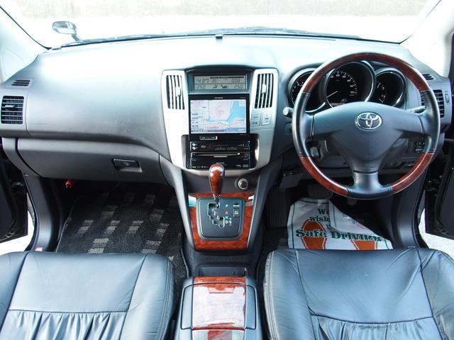 トヨタ ハリアー 240G Lパッケージ サンルーフ エアロ ナビ ETC