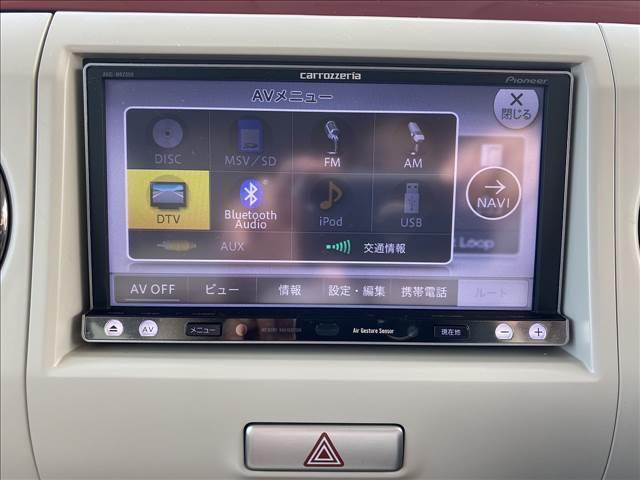 G フルセグナビ Bluetooth レザー調シート HID(17枚目)