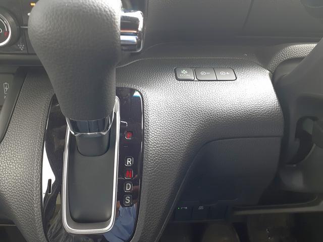 カスタム L 届け出済み未使用車 衝突軽減B レーダークルーズ LEDオートライト&フォグ 車線逸脱警報 リアPセンサー スマートキーx2 プッシュS 電動D シートヒーター 専用エアロ&AW ナビ装着用SPパック(24枚目)