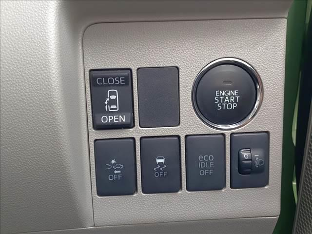 X SA メモリー地デジナビ BT接続 DVD再生 ETC 電動スライドドア 衝突軽減B 横滑り防止 アイドリングストップ スマートキー プッシュスタート Bシート 電格ミラー 純正ドアバイザー オートライト(17枚目)