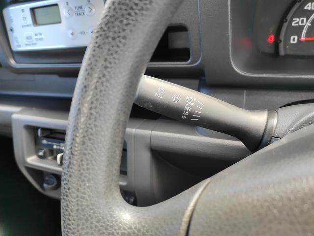 スタンダード 農用スペシャル 5速マニュアルミッション 切り替え4WD デフロック 純正CDオーディオ AUX ETC 荷台ライト エアコン エアバック パワーステアリング 純正ドアバイザー 純正ゴムフロアマット 人気のブラック(22枚目)