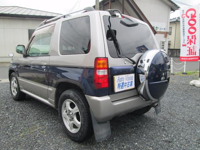 三菱 パジェロミニ V ターボ 4WD HID ETC スペアHケース CD