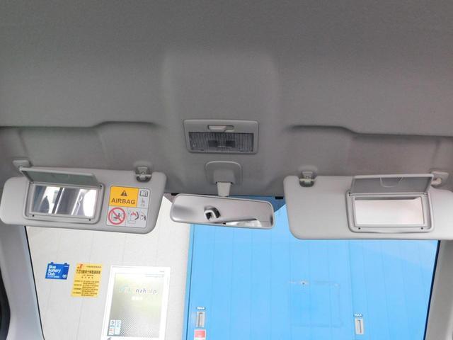 運転席助手席のサンバイザーにミラーが付いていてチョットした時にとても便利です!