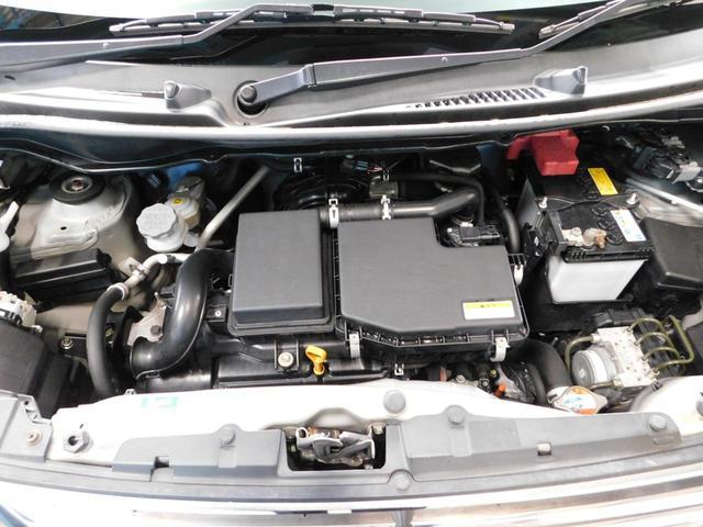 イミングチェ―ン式のエンジンです♪納車時には12ヶ月法定点検+車検整備付きで安心です☆彡ご用命事項等も自社工場にて経験豊富な整備資格を持ったエンジニアが担当しますので安心してご用命ください♪