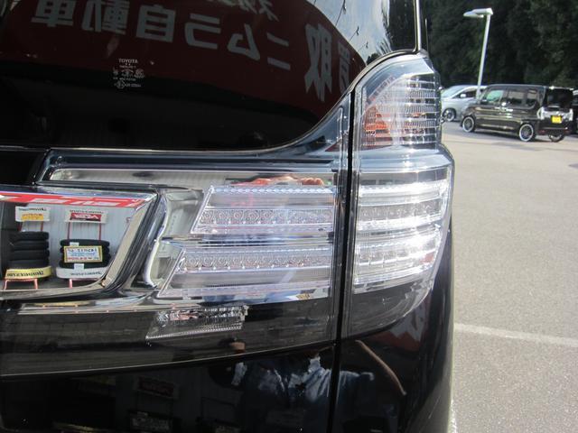 トヨタ ヴェルファイア 2.5Z 車高調 アルパインフリップダウンモニター