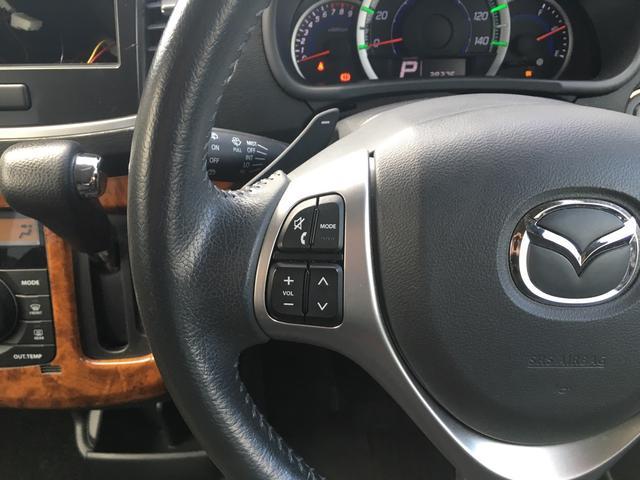 マツダ フレアカスタムスタイル XT ワンオーナー スマートキー ターボ車 パドルシフト