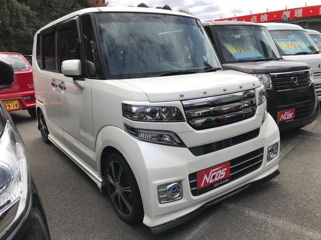 G ターボSSパッケージ ETC 黒革調シートカバー 車高調(3枚目)
