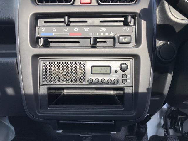 スズキ キャリイトラック エアコン マニュアル5速 軽トラック
