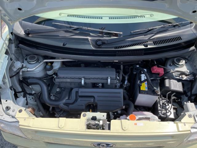 エンジンルームも錆等少なく綺麗な状態を保っております。