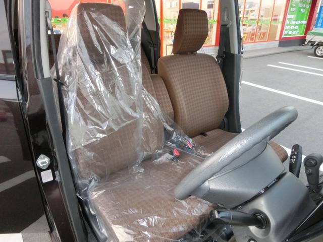 軽自動車とは思えないほど心地よい椅子で、車内も広々していてとても快適。
