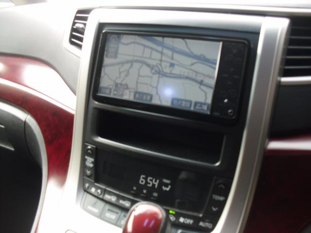 トヨタ ヴェルファイア 2.4Z両側パワースライドHDDナビETC