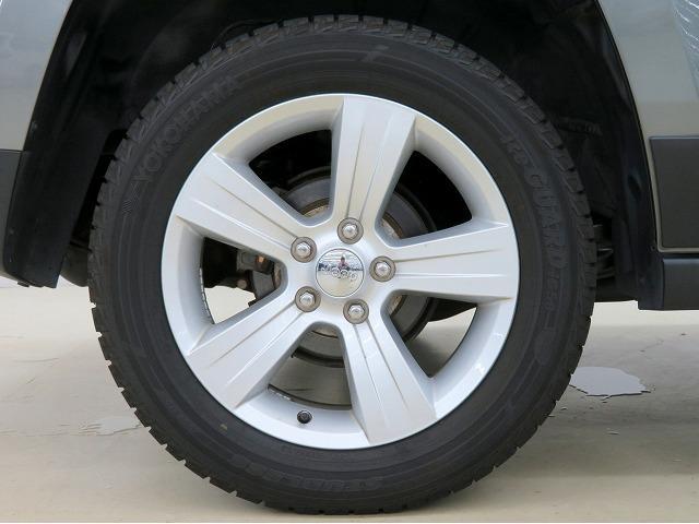 クライスラー・ジープ クライスラージープ パトリオット スポーツ 新品タイヤ4本 タッチパネルオーディオ Sカメラ