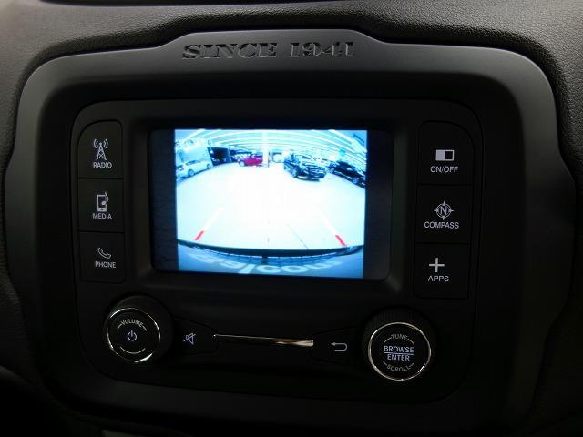 クライスラー・ジープ クライスラージープ レネゲード ブラックエディション 限定150台 正面衝突警報 Bカメラ